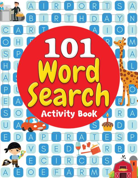 101 Word Search Activity Book - By Miss & Chief
