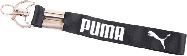 AVI Fabric Locking Doublesided Puma Design Locking Key Chain