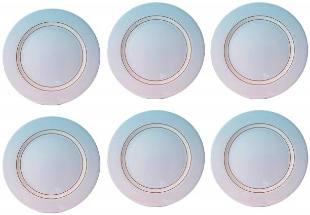 STEHLEN Ceramica Design, 100% Pure Melamine, Dinner Plate Blue Dinner Plate