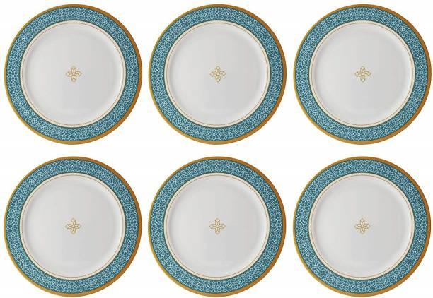 STEHLEN Cubic Design, 100% Pure Melamine, Dinner Plate Green Dinner Plate