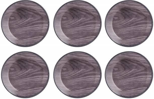 STEHLEN Wooden Design, 100% Pure Melamine, Dinner Plate Set Dinner Plate