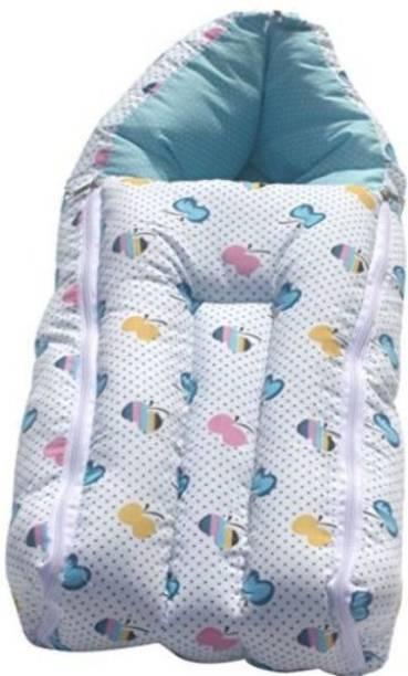 Smartcraft Baby Sleeping Bag Cum Carry Bag- Butterfly Print Sleeping Bag