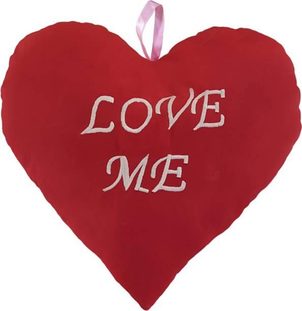 Miss & Chief Heart Shape Love Me Premium Cushion  - 12 inch