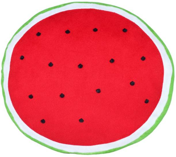 Miss & Chief Watermelon Fruit Slice Shaped Cushion Premium Soft Toy  - 15 inch