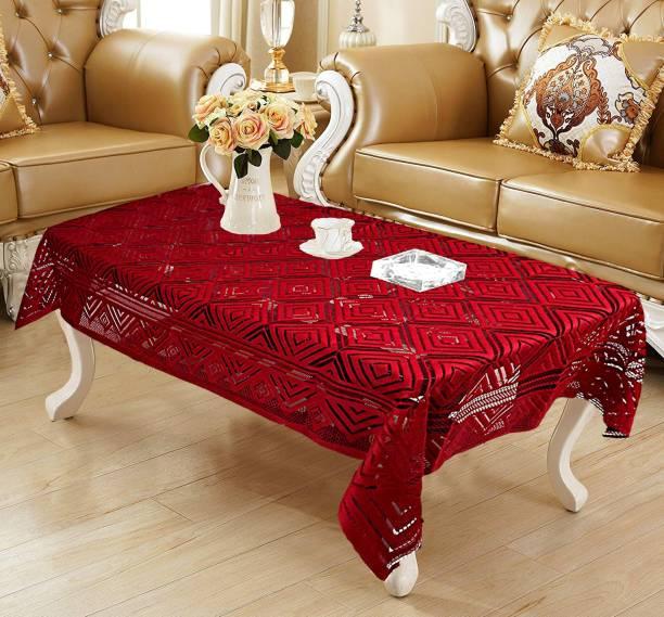 WEAVERS VILLA Geometric 4 Seater Table Cover