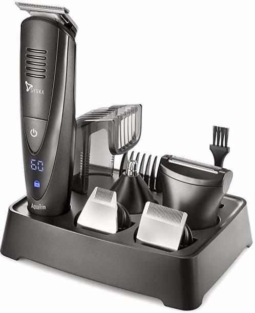 Syska HT4000k  Runtime: 60 min Grooming Kit for Men