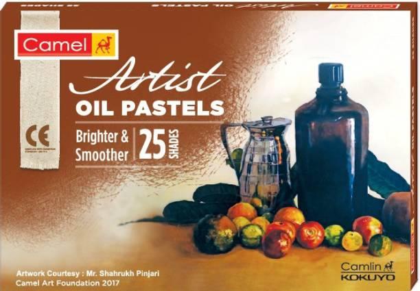 Camel Artist Oil Pastels 25 Shades