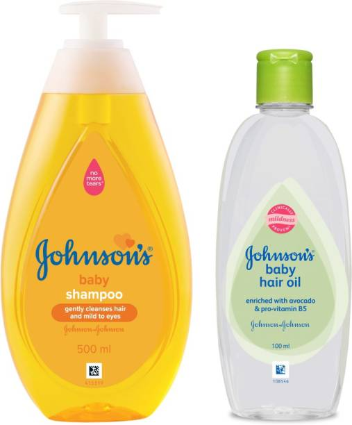 JOHNSON'S Baby No more Tears Shampoo with Hair oil