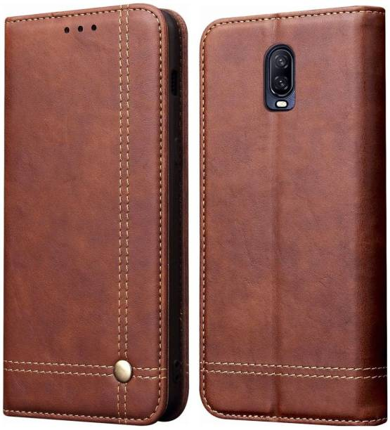 Pirum Wallet Case Cover for OnePlus 6T