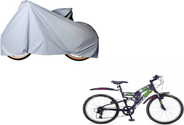 SPIRITED Water Resistant Bicycle Cover Bicycle Cover Free Size