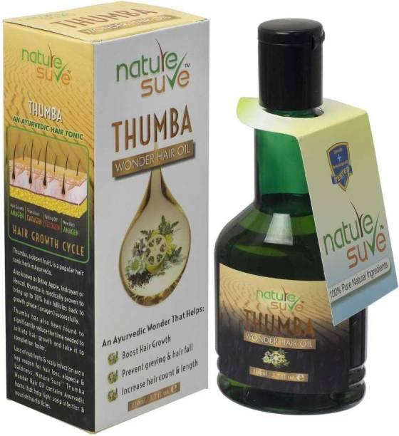 Nature Sure Thumba Wonder Hair Oil for Men and Women – 1 Pack (110ml) Hair Oil