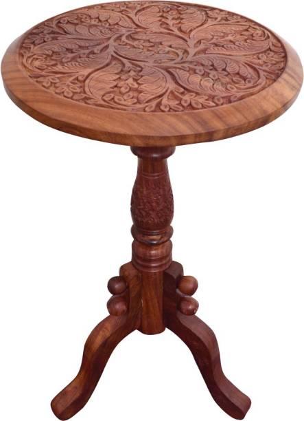 WILLART Sheesham Wood Solid Wood Corner Table