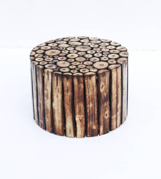 Raza Handicraft Solid Wooden Stool & Side Table Solid Wood Side Table