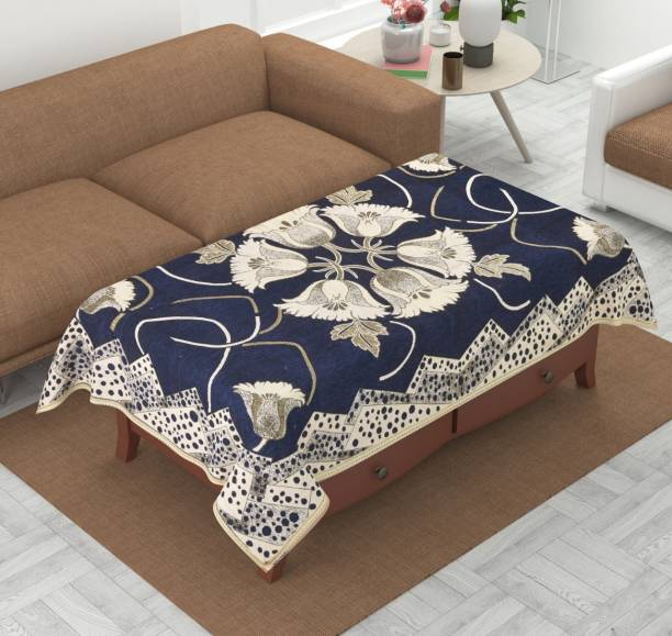 Luxury Crafts Floral 4 Seater Table Cover