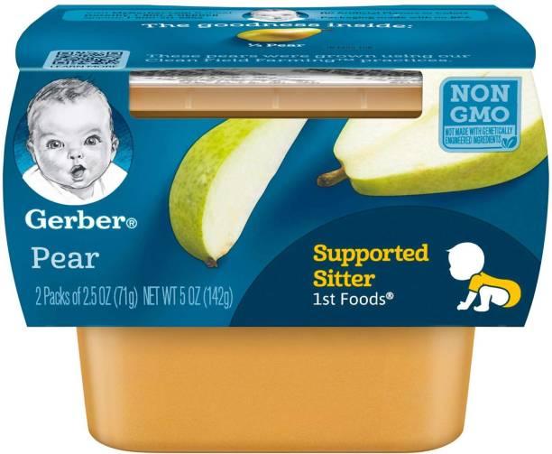 GERBER 1st Foods 2pk 142g (4oz) - Pears Cereal