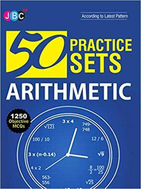 50 Practices Sets Arithmetic 1250 Objective MCQs