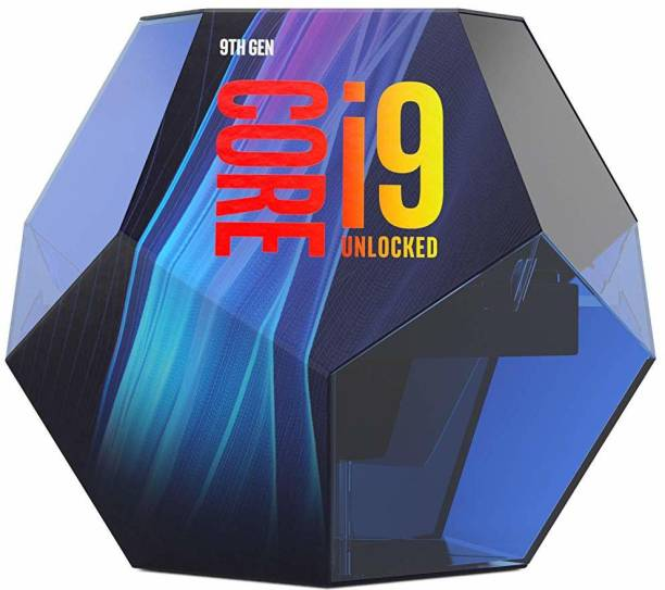 Intel Core i9-9900K 9th Generation 3.6 GHz Upto 5 GHz LGA 1151 Socket 8 Cores 16 Threads 16 MB Smart Cache Laptop, Desktop Processor