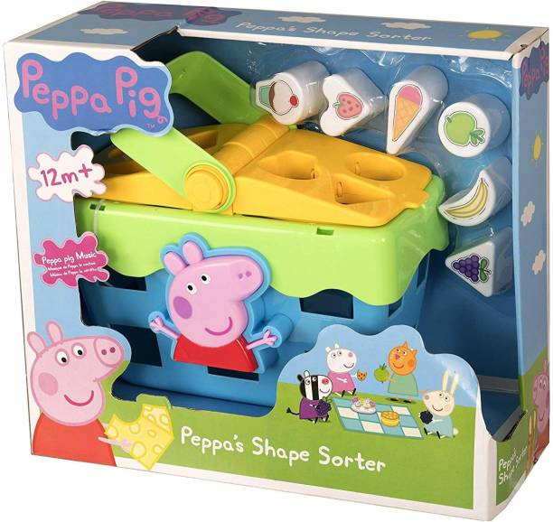Peppa Pig Shape Sorter Toy