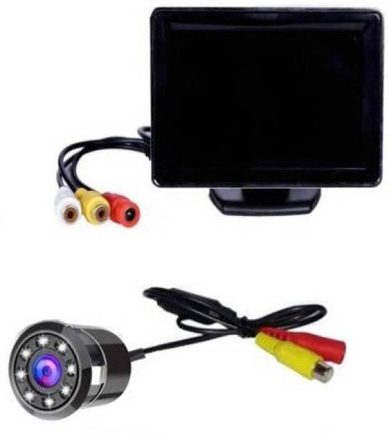 Autoxygen Car Rear View Full HD Dashboard Screen Waterproof Reserve Camera K_002 Vehicle Camera System