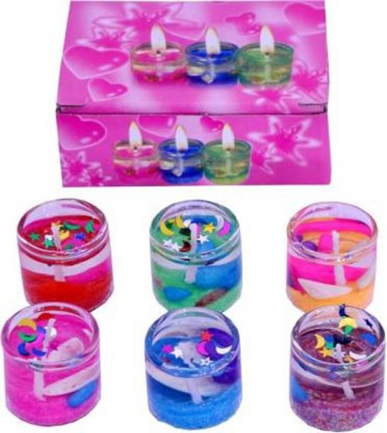 HEZAL FASHION HOUSE Diwali Christmas Large Tea Light Candle Candle