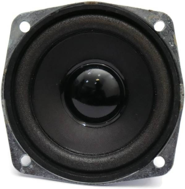 Electronicspices Speakers DIY Home Car Audio Double Magnet HiFi Speakers 3 Inch Square Shape Speakers Coaxial Car Speaker