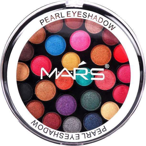 MARS 27 shade Pearl Eyeshadow With Under Eye Cream 27 g