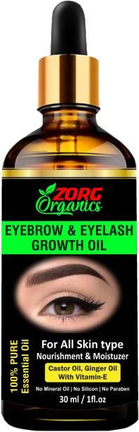 Zorg Organics Eyebrow & Eyelash Growth Oil 30 ml