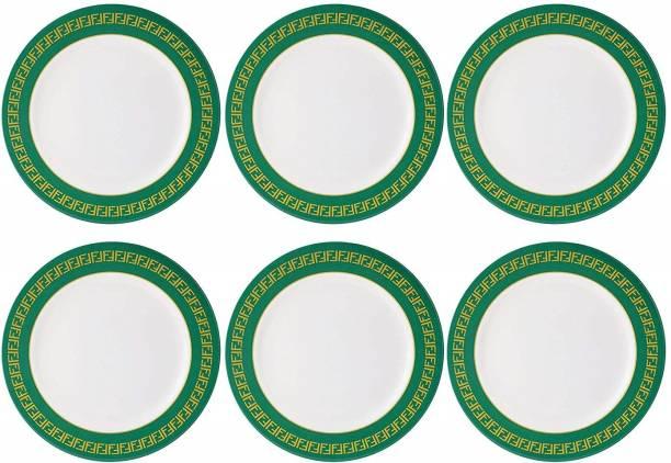 STEHLEN Vintage Design, 100% Pure Melamine, Dinner Plate Green Dinner Plate