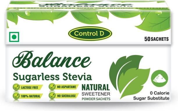 Balance Sugarless Zero Calories Sweet Stevia Sachets Sweetener