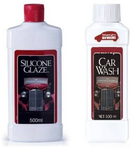Silicone Glaze 1 Car Polish, 1 CAr Wash Combo