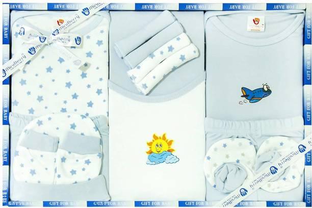 Mini Berry New Born Unisex Baby Clothing Gift Set