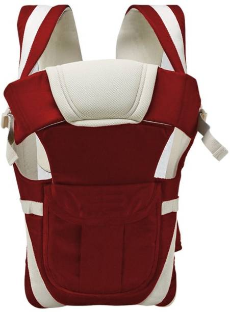 Antil's Maroon & Cream Baby Carrier