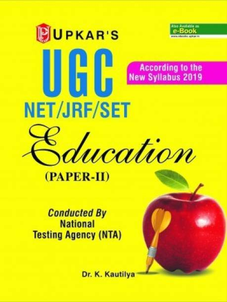 UGC-NET/JRF/SET Education (Paper II) Conducted by NTA 2019 Edition
