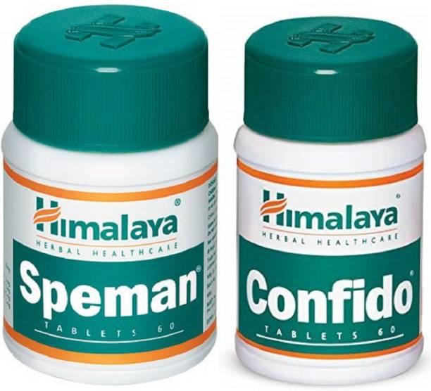 Himalaya Herbals confido and speaman tablet (set of 2)