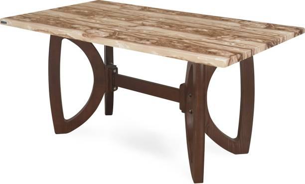 Nilkamal Veri Solid Wood 6 Seater Dining Table