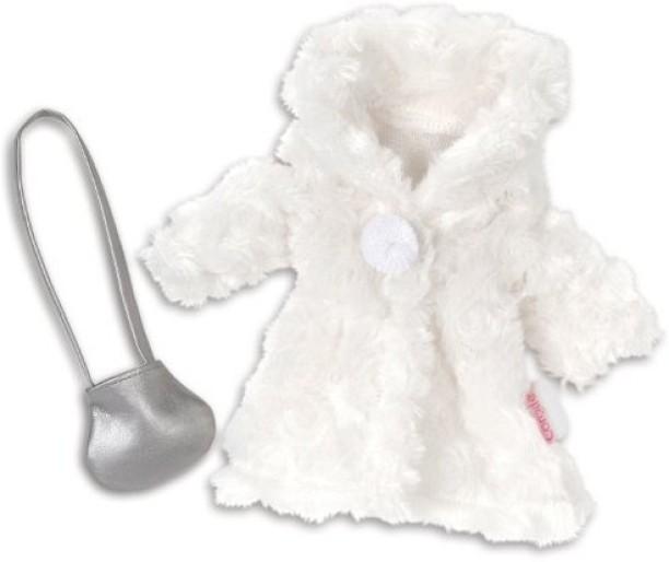 "Corolle Mon Classique White Snowsuit for 17/"" Doll Fashions"