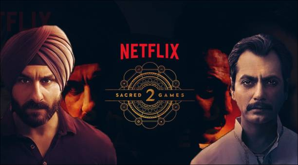 Sacred Games 2 ( Number of episodes: 8 ) in Hindi HD print clear voice (it's burn data DVD play only in computer or laptop not original without poster)