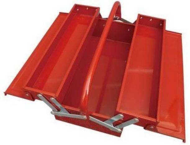 Tinax 3 Compartment Metal Tool Box
