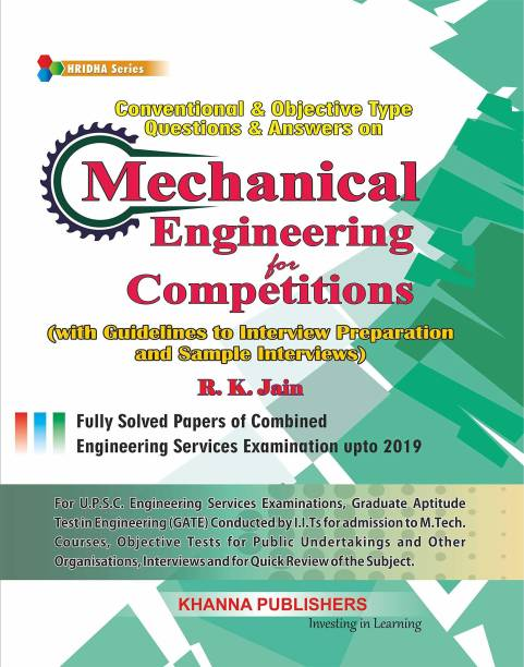 Conventional & Objective Type Questions & Answers on Mechanical Engineering for Competitions