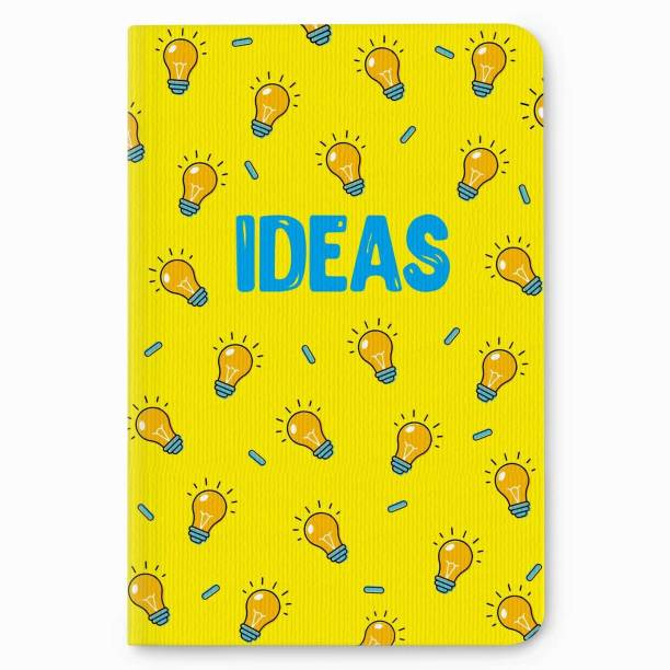 Factor Notes 90 GSM Natural Shade Paper Journal Diary B6 Notebook Single Ruled 112 Pages