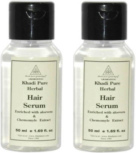 Khadi Pure Herbal Hair Serum Pack of 2