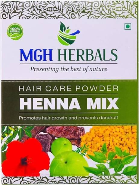 MGH Herbals Henna Mix Powder With Amla, Hibiscus Powder 1KG