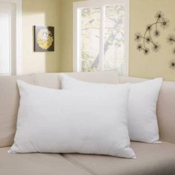 Zarglic Polyester Fibre Solid Sleeping Pillow Pack of 2