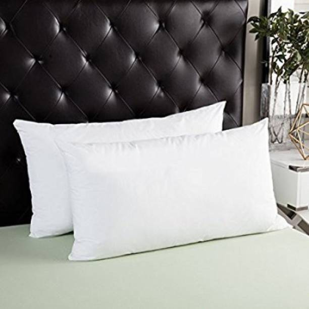 JDX Polyester Fibre Solid Sleeping Pillow Pack of 2