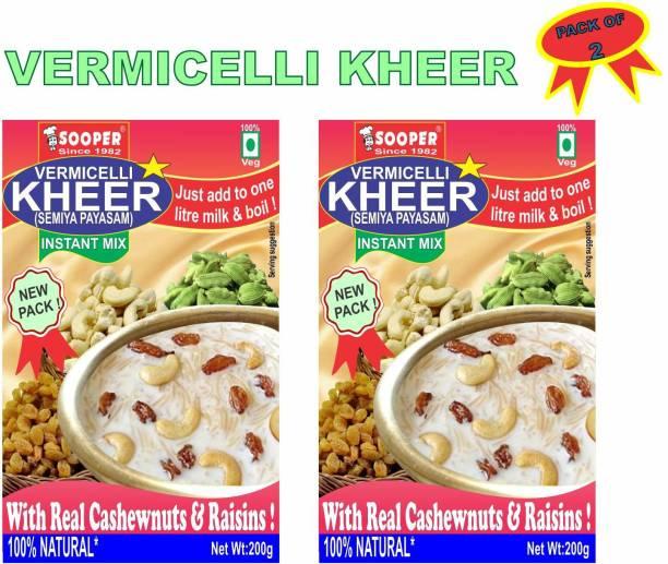 SOOPER COMBO PACK OF 2 VERMICELLI KHEER PREMIX 400 g