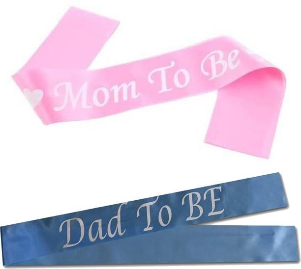 Jamboree Mom to Be Sash Dad to Be Sash