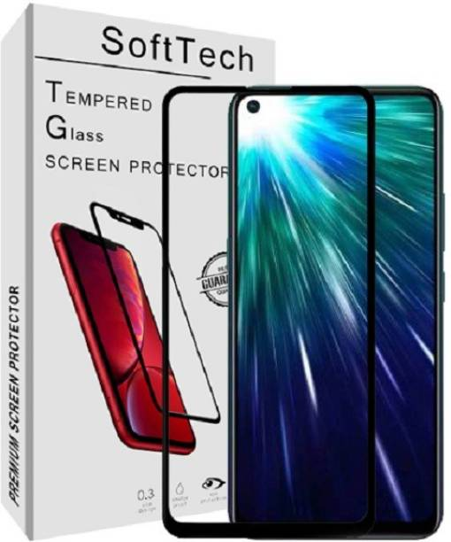 SoftTech Edge To Edge Tempered Glass for Vivo Z1 Pro