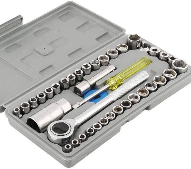 Aiwa Professional 102/00 High Quality 40 PCS Socket Set