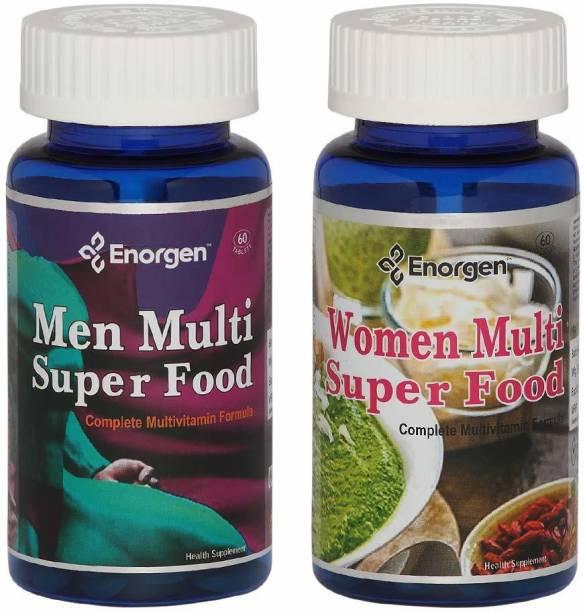 Enorgen Men & Women Super Food- Multivitamins, Antioxidant for Wellness