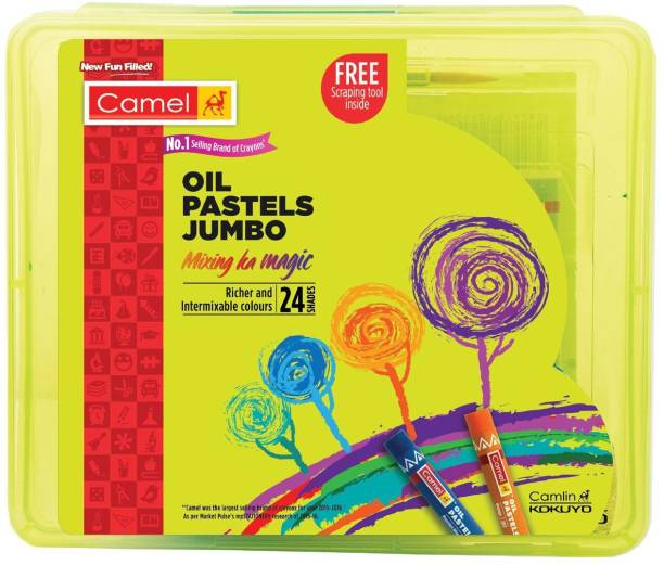 Camel Jumbo Oil Pastels 24 Shades